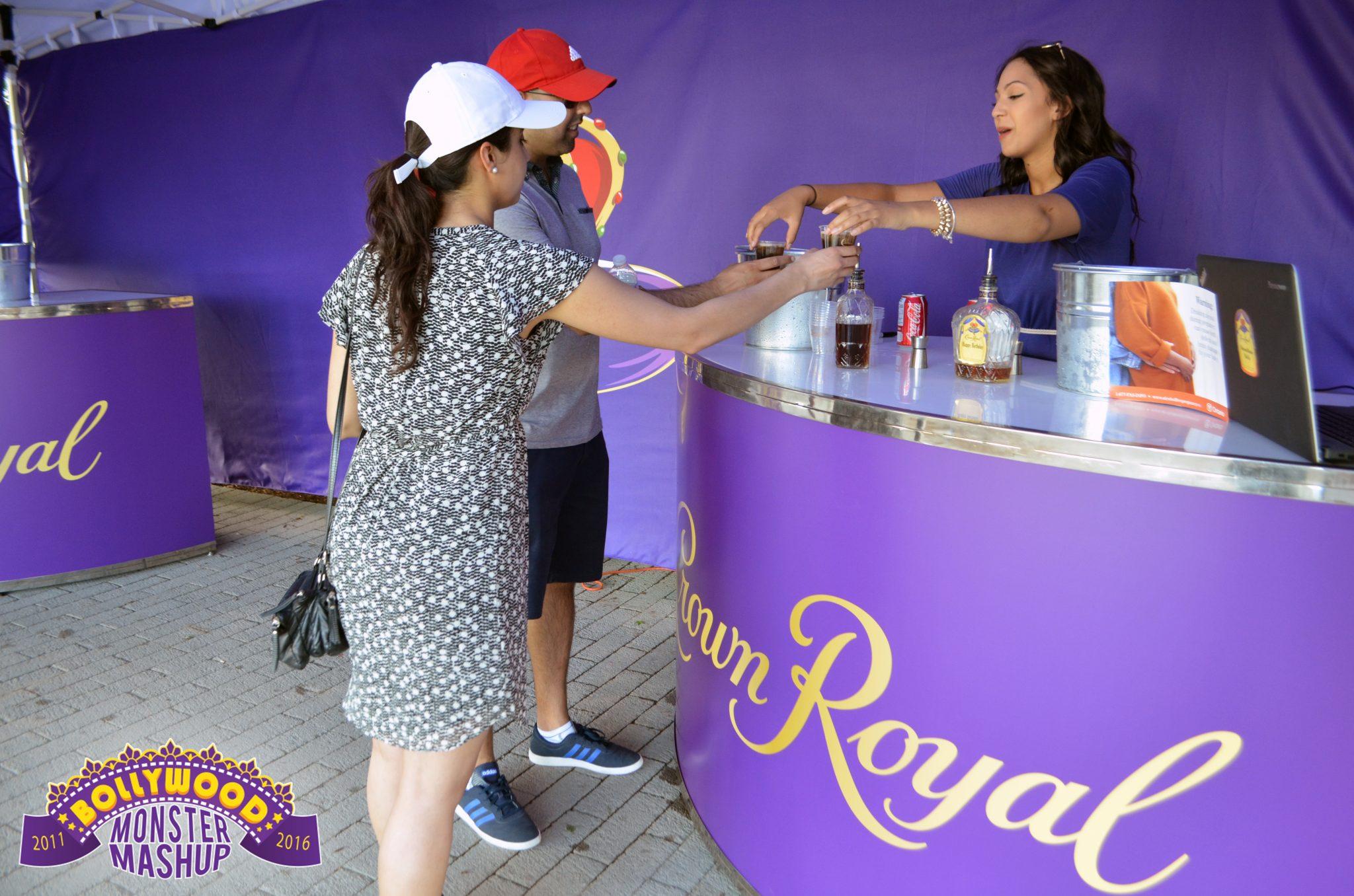 Crown Royal Booth at BMM
