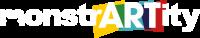 MonstrARTity White logo